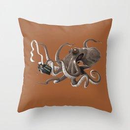 Count to Ten (colour) Throw Pillow