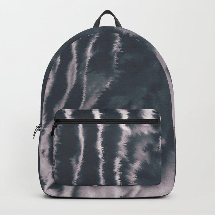 F-Tie dye- blue & white Backpack