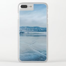 Lake Baikal. March Clear iPhone Case