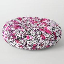 It's Never Just B&W Floor Pillow