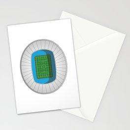Football Stadium Stationery Cards