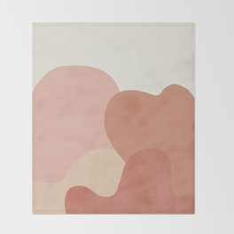 Strange Landscape Throw Blanket