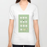 madrid V-neck T-shirts featuring football madrid by skip ad