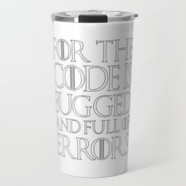 Game Travel Mug