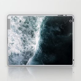 Oceanscape - White and Blue Laptop & iPad Skin