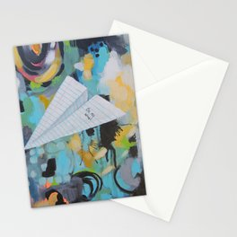 On My Way Stationery Cards