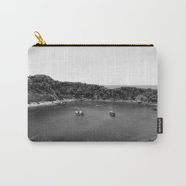 Rhodes Greece Anthony Quinn Bay black white Carry-All Pouch