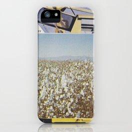 Cotton field iPhone Case