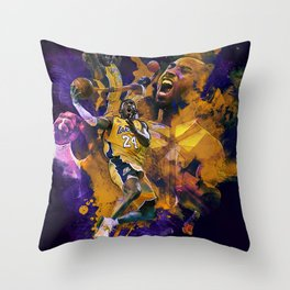 Lakers Legend Throw Pillow