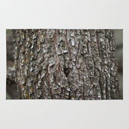 Alligator Juniper Tree Bark Rug