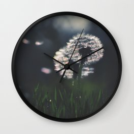 whispers in the wind Wall Clock