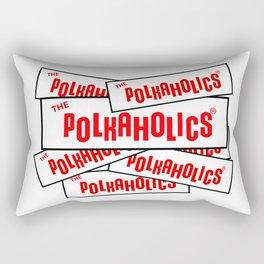 The Polkaholics - Bumper Stickers Rectangular Pillow