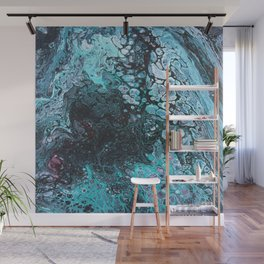 Acrylic pour 1 Wall Mural