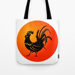 Year of the Rooster Icon Tote Bag