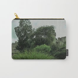 Warwick Castle Bathed in Green Light Carry-All Pouch