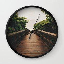 Follow Your Path Wall Clock