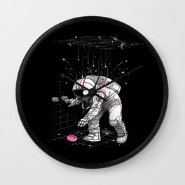 Meteor Shower Wall Clock