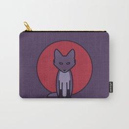 Purple Fox - Kitsune Visits Japan Carry-All Pouch