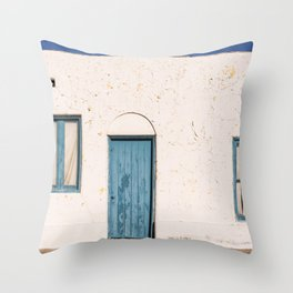 Entrance to the Amargosa Opera House in Death Valley Junction Inyo County California Throw Pillow
