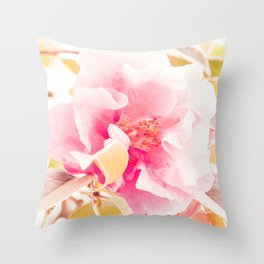 camellia I Throw Pillow