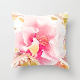 camellia I Throw Pillow