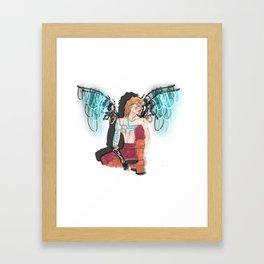 Mechno Angel  Framed Art Print