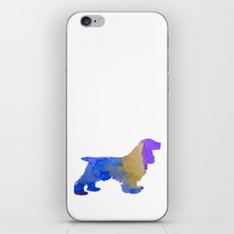 Cocker Spaniel iPhone Skin