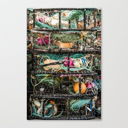 Fishing Gear Canvas Print