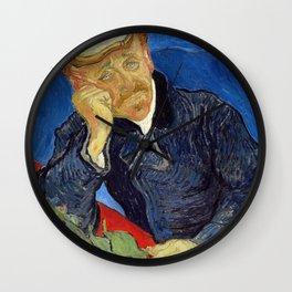 Vincent Van Gogh - Portrait of Dr Gachet Wall Clock