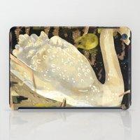 swan iPad Cases featuring Swan by Lara Paulussen