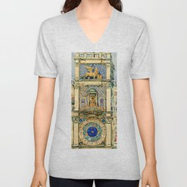 "Maurice Prendergast ""Clock Tower, Saint Mark's Square, Venice"" Unisex V-Neck"
