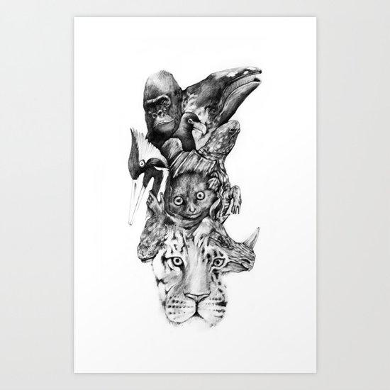 Earth Day Art Print