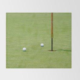 Golf Pin Throw Blanket
