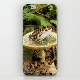 Toad Stool. iPhone Skin