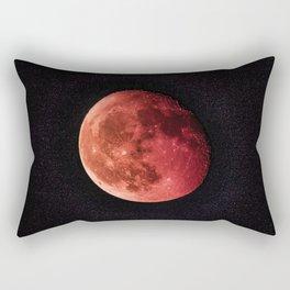 Blood Moon (Color) Rectangular Pillow
