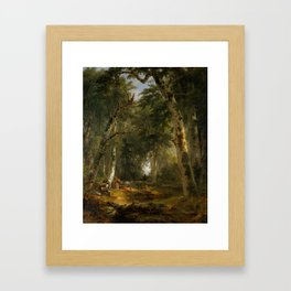 In the Woods , Asher Brown Durand Framed Art Print