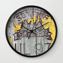 All and Sundre Wall Clock