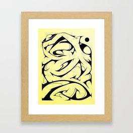 Morph Framed Art Print
