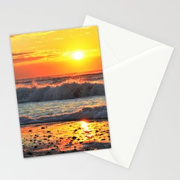 Waves Breaking Dawn Stationery Cards