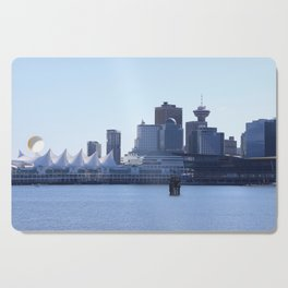Downtown Vancouver Canada Cutting Board