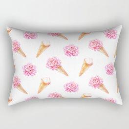 Floral Cones Rectangular Pillow