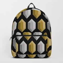 These Aren't Rupees! - Gold & Silver Black Backpack