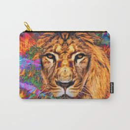 Iron...Like A Lion...In Zion Carry-All Pouch