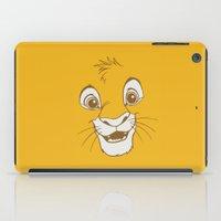 simba iPad Cases featuring Simba  by Luxatr