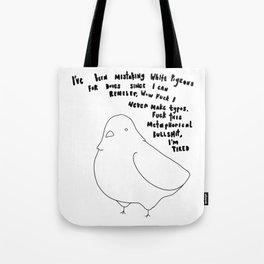 Metaphorical Bullshit Tote Bag