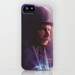 """""""HOLMES!! TELL ME WHERE MY BLOODY WIFE IS?"""" iPhone Case"""