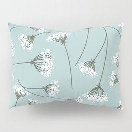 Queen Anne's Lace Floral Pattern Pillow Sham
