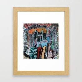 UNDER THE CITY (THE DEPTHS) Framed Art Print