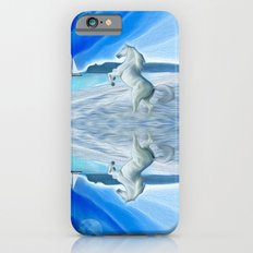 My Design - Beach with moon and horse iPhone 6s Slim Case