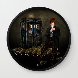 Doctor 2th and rats Wall Clock
